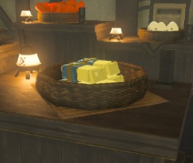 File:Breath of the Wild Cooking Ingredients (Butter) Goat Butter (High Spirits Produce).png