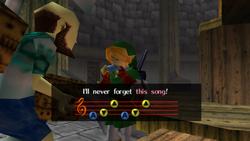 Canción Tormenta OoT
