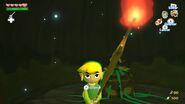 Link sosteniendo un Palo Boko en TWW HD