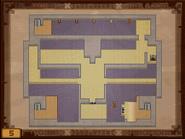 Mapa de la quinta planta del Templo de los Mares ST