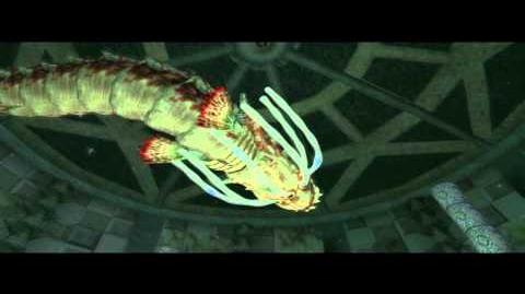 Octolacanthe Boss du Temple Abyssal (Zelda Twilight Princess) HQ