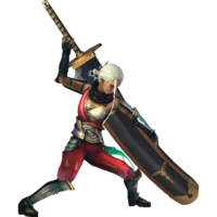 Traje rojo Impa DLC Master Quest