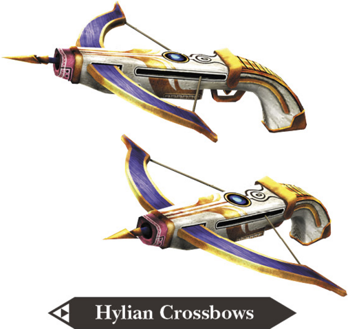 Into The Wild Warriors Summary: Hyrule Warriors Legends Crossbows Hylian Crossbows