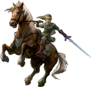 Link and Epona (Twilight Princess)