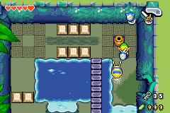 Link vs giant slug