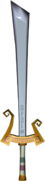 The Wind Waker Enemy Weapons Ganondorf's Sword (Render)
