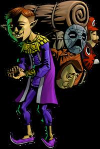 Vendeur de masque
