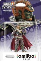 Embalaje japonés del amiibo de Ganondorf - Serie Super Smash Bros.