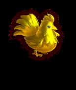 Retrato de un Cuco dorado HW