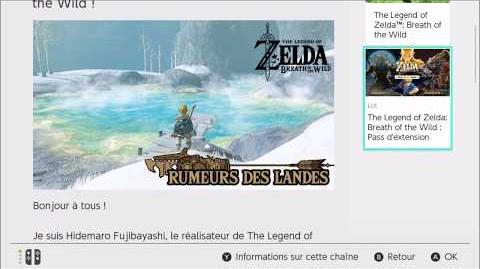 Zelda BOTW - Rumeurs des Landes les oeufs