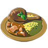 Breath of the Wild Food Dish (Curry) Gourmet Poultry Curry (Icon).png