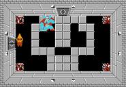 Link y Ganon en el Nivel 9 (Segunda Búsqueda) TLoZ
