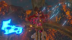 Ombre de feu de Ganon botw