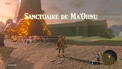 Sanctuaire de Ma'Ohnu BOTW