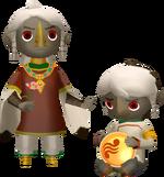 Scaff figurine