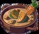 Velouté de légumes avec carotte ou citrouille