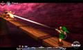 Link atacando a un Yelmosaurio en MM 3D