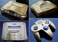 Nintendo 64 Gold Edicion Legend of Zelda Ocarina of Time