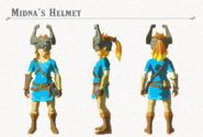 Breath of the Wild DLC Armor Midna's Helmet (Head Armor)