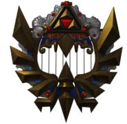 Hyrule Warriors Triforce Harp (Render)