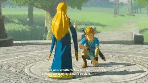 The Legend of Zelda - Die alte Zeremonie Erinnerung Cutscene