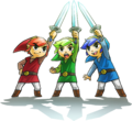Tri Force Heroes artwork 3