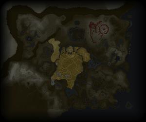 Plaine d'Hyrule BotW Map