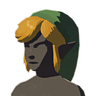 Breath of the Wild amiibo Rune Items (Hero of Wind Armor Set) Cap of the Wind (Icon).png
