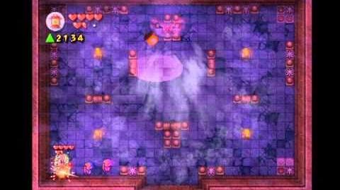 Jalhalla Battle in Hyrule Castle (Four Swords Adventures)