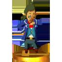 Super Smash Bros. for Nintendo 3DS Trophies Linebeck (Render)