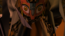 Iron Knuckle Gerudo Face
