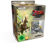 Pack europeo con amiibo The Legend of Zelda Twilight Princess HD