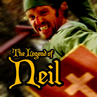 The Legend of Neil Title Card