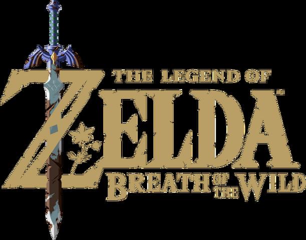 Файл:The Legend of Zelda Breath of the Wild logo.png