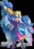 Artwork Zelda y Pelícaro SS