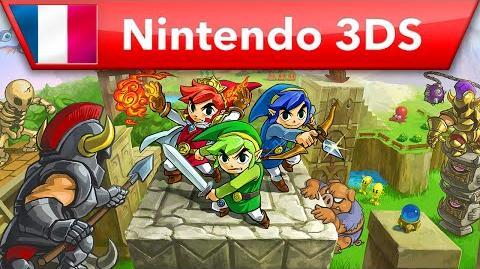 The Legend of Zelda Tri Force Heroes - Bande-annonce