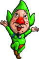 Tingle Artwork (Freshly-Picked Tingle's Rosy Rupeeland)