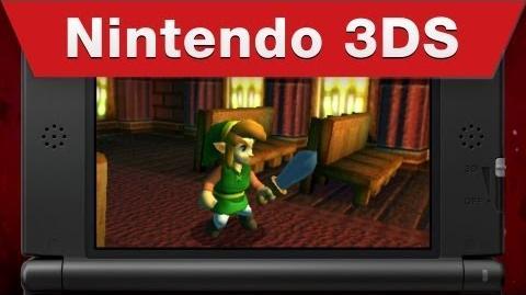 Trailer The Legend of Zelda A Link Between Worlds