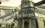 Castillo de Hyrule entrada principal TP