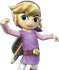 SSBB Link Cartoon Costume Violet
