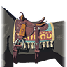 File:Breath of the Wild Horse Gear (Default Saddle) Stable Saddle (Icon).png