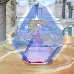 Zelda usa l'Amore di Nayru