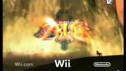 Pub française «équitation» pour Twilight Princess, version courte (GameCube Wii)