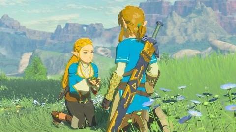 The Legend of Zelda - Breath of the Wild La princesse de la sérénité (Souvenir 9)