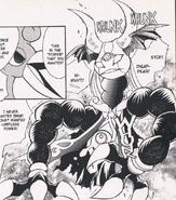 Transformation accidentelle Vaati Grand Avatar-Manga The Minish Cap (anglais)