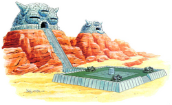 Wüstenpalast(Artwork)