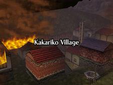 Villa Kakariko Ardiendo OoT