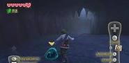 Chuchu en la gruta de la cascada SS