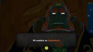 Ganondorf presentándose en TWW HD