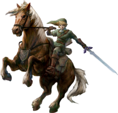 Link und Epona (Twilight Princess)